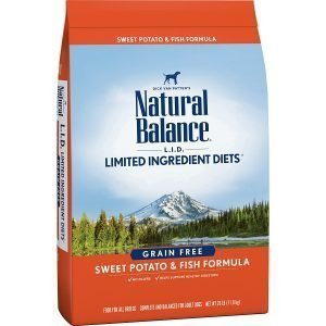 Natural Balance Limited Ingredient Diets Dry Dog Food - Sweet Potato & Fish Formula.