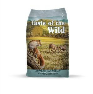 Taste of the Wild Grain Free High Protein Natural (Appalachian Valley Small Breed - Venison)