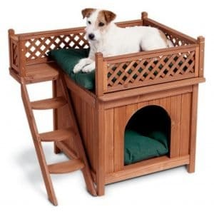 Merry Products Wood Dog Home.