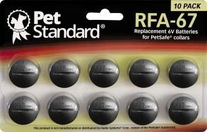 PetStandard Replacement RFA-67 for PetSafe Wireless Fence Systems.