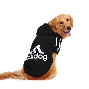 Idepet Cotton Adidog Large Dog Clothes .