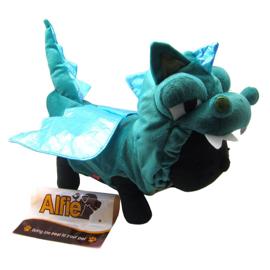 Dog dragon costume by Alfie Pet.