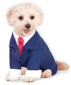 Rubie's Costume Co Business Suit Pet Costume Ensemble.