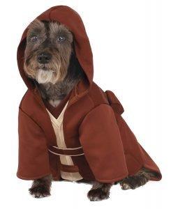 Rubie's Star Wars Classic Jedi Robe Pet Costume Ensemble.