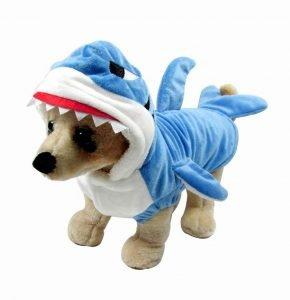 Mogoko Funny Dog Shark Costume.