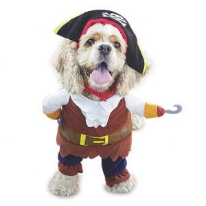 NACOCO Pet Dog Costume Pirates of The Caribbean Style Costume.