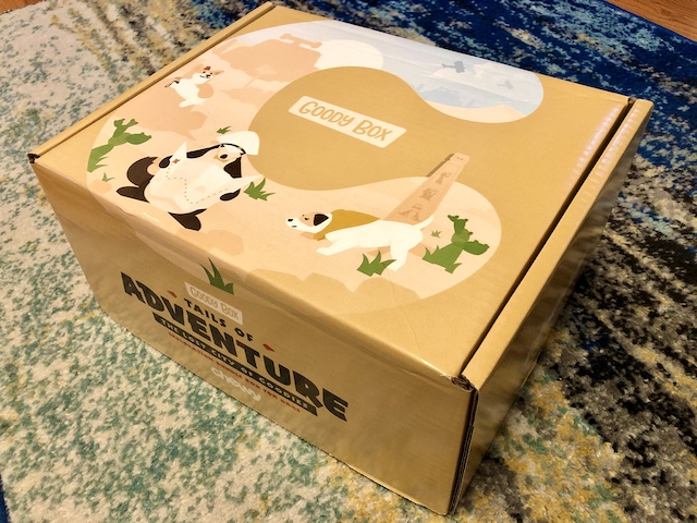 Chewy goodie box packaging.