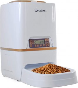 WESTLINK 6L Automatic Pet Feeder Food Dispenser.