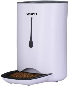 WOPET Automatic Pet Feeder Food Dispenser.