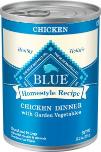Best Canned Dog Food: Blue Buffalo Homestyle Recipe.