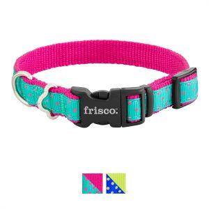 Best Dog Collar: Frisco Patterned Nylon.