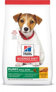 Hill's Science Diet Puppy Healthy Development Small Bites Dry Dog Food.