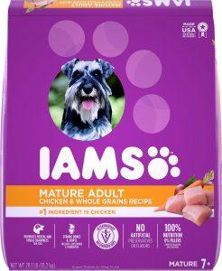 Iams ProActive Health Mature Adult Dry Dog Food.
