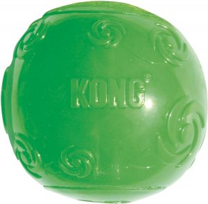 KONG Squeezz Ball Dog Toy.