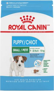 Royal Canin Small Puppy Dry Dog Food.