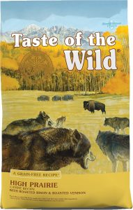 Best Grain-Free Dog Food: Taste Of The Wild High Prairie.