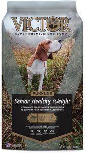 VICTOR Senior Healthy Weight Dry Dog Food.