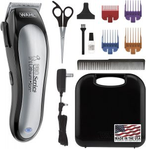 Wahl Lithium Ion Pro Series Cordless Animal Clippers.