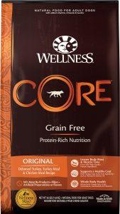 Wellness Core Grain-Free Original Dry Dog Food.
