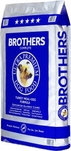 Brothers Complete Turkey Meal & Egg Formula Advanced Allergy Care Grain-Free Dry Dog Food.