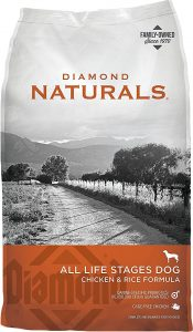 Diamond Naturals Chicken & Rice Formula All Life Stages.