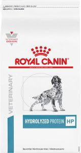Best Dog Food For Allergies: Royal Canin Hydrolyzed Protein.