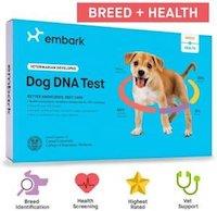 Embark Breed Identification & Canine Genetic Health Screening Combo