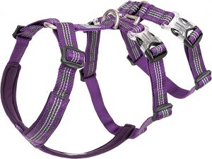 Chai's Choice Double H Trail Runner Polyester Reflective No Pull Dog Harness.