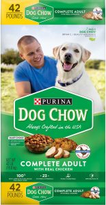 Dog Chow Complete Adult with Real Chicken Dry Dog Food.