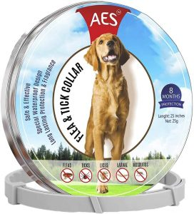 ITBAZ Flea and Tick Collar for Dogs.