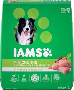 Iams ProActive Health Adult MiniChunks Dry Dog Food.