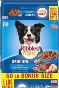 Kibbles 'n Bits Original Savory Beef & Chicken Flavors Dry Dog Food.