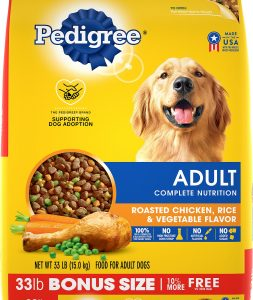 Best Cheap Dog Food: Pedigree Adult Complete Nutrition.