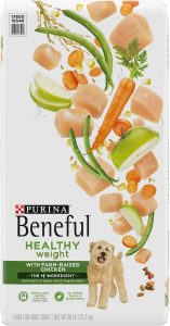 Purina Beneful Healthy Weight with Farm-Raised Chicken Dry Dog Food.
