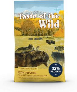 Taste of the Wild High Prairie Canine Grain-Free Recipe with Roasted Bison and Venison Adult Dry Dog Food.