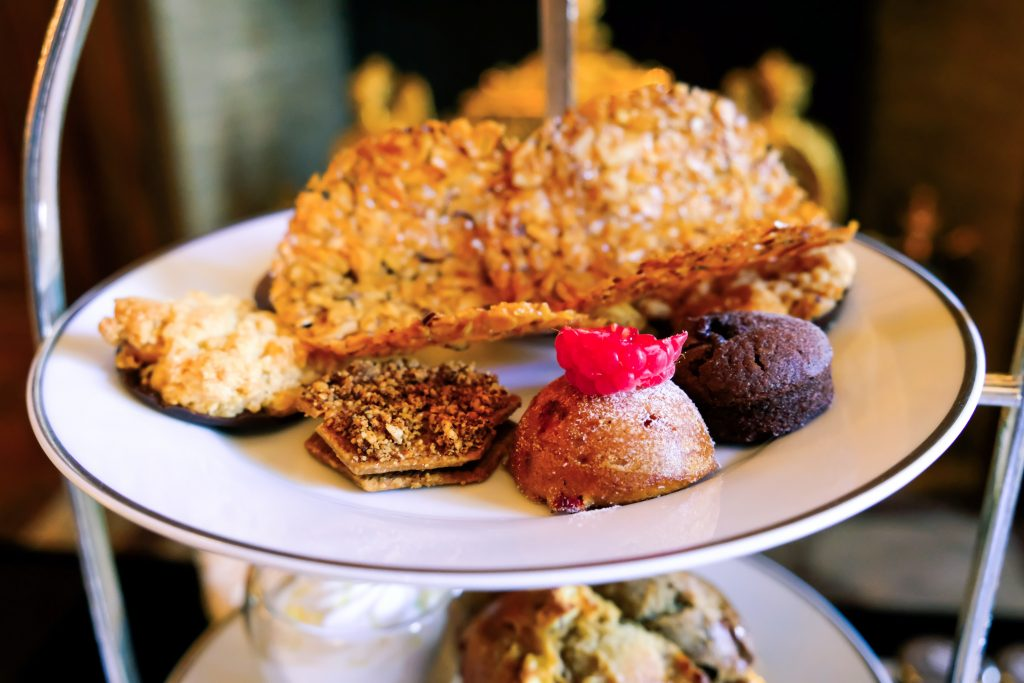 Assorted French pastries.