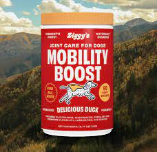 Best dog joint supplement: Ziggy's mobility boost.