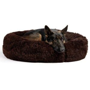 Best Friends by Sheri The Original Calming Shag Fur Donut Cuddler Cat & Dog Bed.