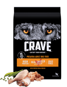 Crave Grain Free High Protein.