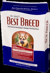 Dr. Gary's Best Breed Breed German Dog Diet.