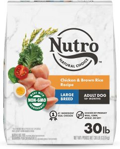 Nutro Natural Choice Large Breed Adult Chicken & Brown Rice Recipe Dry Dog Food.