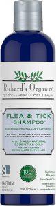 Richard's Organics Flea and Tick Shampoo.