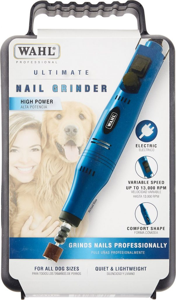 Wahl Ultimate Corded Pet Nail Grinder review.